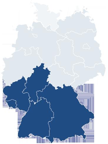 Wasserspender Süddeutschland und Österreich
