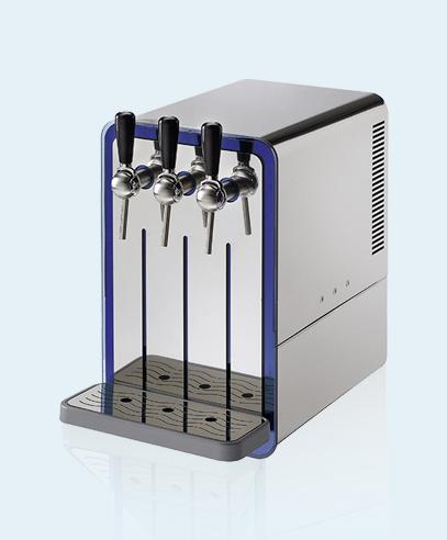 Ecochic Zapfsäule blupura Auftisch-Wasserspender