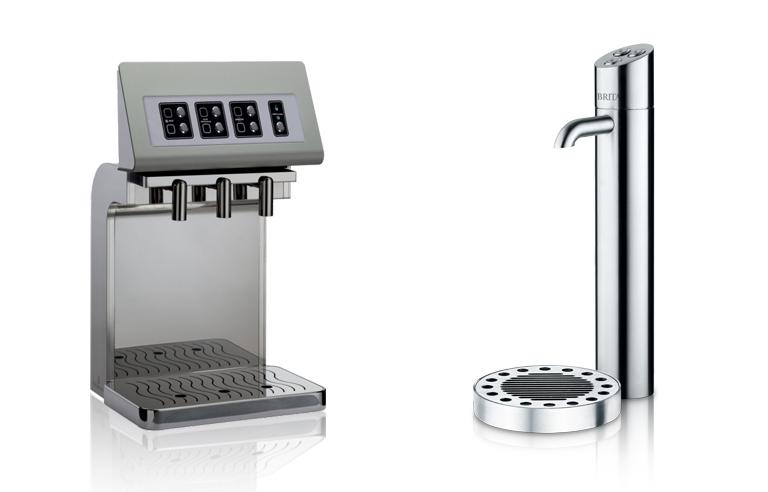 Wasserspender Einbaugerät