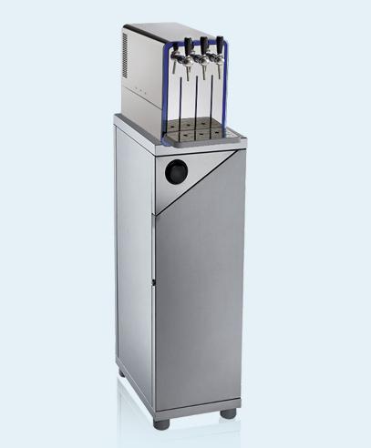 Ecochic Beer Tap blupura Stand-Wasserspender